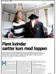 Læs artiklen i Jyllandsposten - AVT Business School