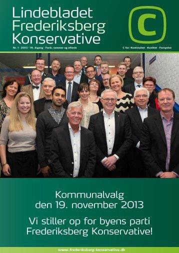 Lindebladet Frederiksberg Konservative - Konservative Folkeparti
