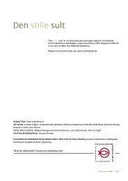 Dokumentationsmateriale Den stille sult 2006.pdf - Folkekirkens ...