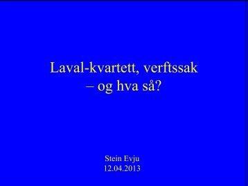 Stein Evju - Nei til EU