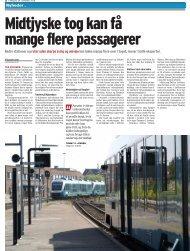 Nyheder . Bedre stationer og ruter uden skarpe sving og omvejekan ...