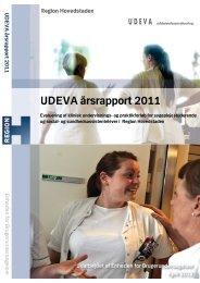 UDEVA årsrapport 2011 - Enheden for Brugerundersøgelser