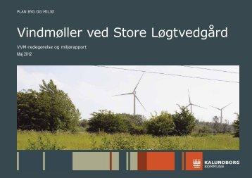 VVM-redegørelse - loegtvedgaardvindkraft.dk