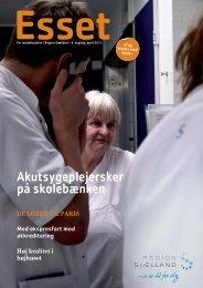 Akutsygeplejersker på skolebænken - Region Sjælland