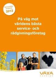 Utskrift Verksamhets- berättelse - Växa Sverige