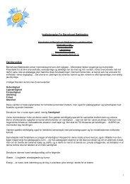 Virksomhedsplan For Børnehuset Bækkestien - Randers Kommune