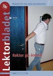 Lektorbladet 4 2006 - Norsk Lektorlag