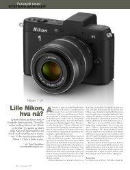 Nikon V1 - Fotografi.no