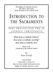 Luke E. Hart Series - Part 2, Section 2: Introduction to the Sacraments