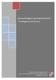 Idrætsdeltagelse og idrætsfaciliteter i Vordingborg Kommune