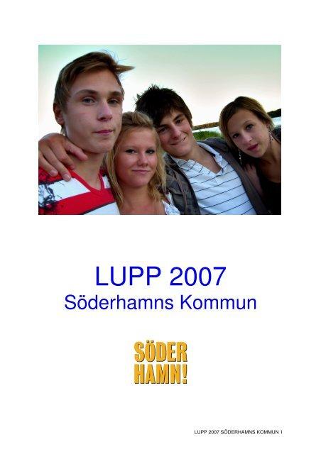 LUPP slutrapport maj 2008.pdf - Söderhamns kommun