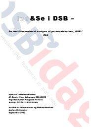 4. Kortlægning af den medierede interne kommunikation i DSB ...