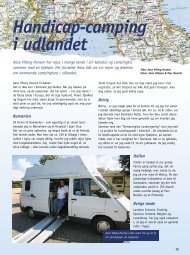 Handicap-camping i udlandet