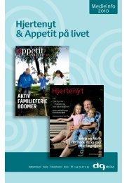 Hjertenyt & Appetit på livet - DG Media