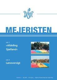 Mejeristen 2 2007 - Danske Mejeristers Fagforening