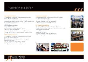 Konferencepakker - Dynamic Hotels