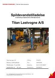 Titan Lastvogne - Solrød Kommune