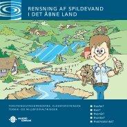 rensning af spildevand i det åbne land - Forsyningsvirksomhederne
