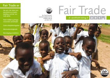 Fair Trade er - NordicFairTrade