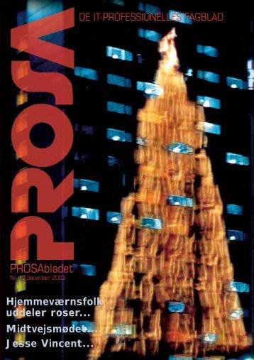 PROSAbladet december