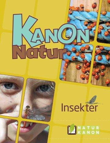 """""""Kanon Natur - insekter"""" som pdf - Naturstyrelsen"""
