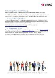 Kortbetaling i Visma Avendo Webshop