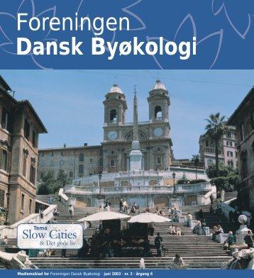 Foreningen Dansk Byøkologi - Foreningen Bæredygtige Byer og ...