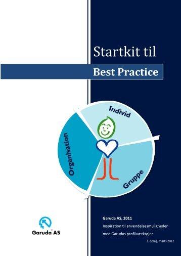 Startkit til 'best practice' - Garuda AS
