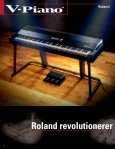 NYE PRODUKTER - Roland Scandinavia a/s - Page 4