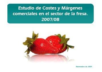 Costes y margenes en fresas