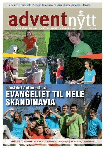 EVANGELIET TIL HELE SKANDINAVIA - Advent Nytt