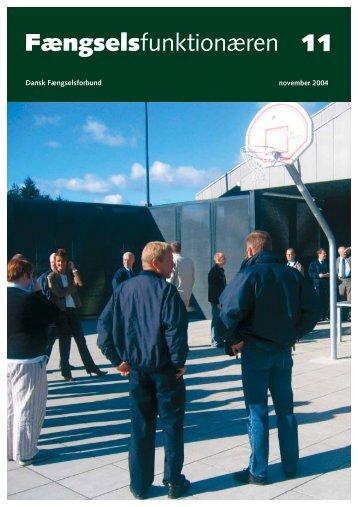 Fagblad 11/2004 - Fængselsforbundet