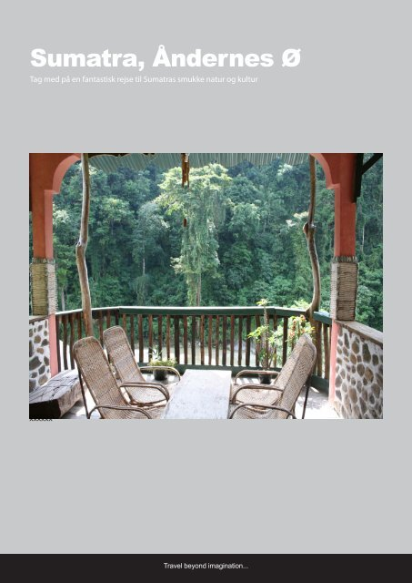Sumatra, Åndernes Ø - Spider Web Travel