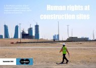 Human rights at construction sites - DanWatch