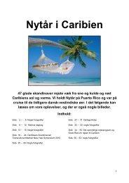 Nytår i Caribien 2010-2011. - Smedebøl.dk