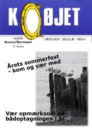 Nr. 4/2008 - Øresunds Sejlklub Frem