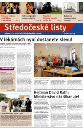 Středočeské listy - květen 2009 - Středočeský kraj