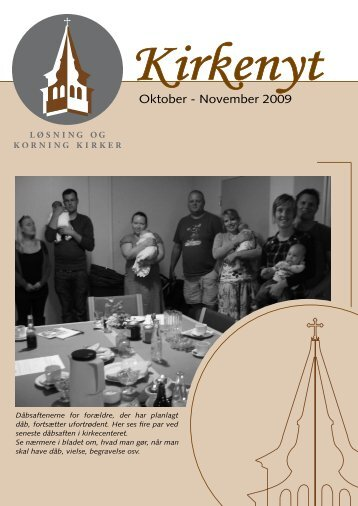 Oktober - November 2009 - Løsning og Korning Sogne