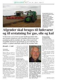 Kronik – 1 - Danske Fødevare- og Landbrugsjournalister.