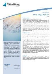 Danske Aktier oktober (pdf) - Alfred Berg Invest