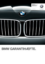 Download BMW Garantihæfte (Pdf) - BMW Danmark