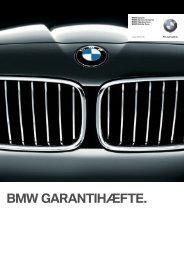 Download BMW Garantihæfte (Pdf) - BMW Danmark