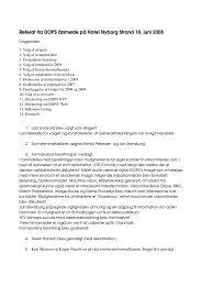 Referat af DOPS generalforsamling 2008