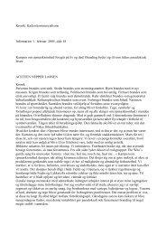 Kronik: Kælen kommercialisme Information 1. februar 2005, side 18 ...