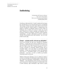 Indledning - Jette Rostock