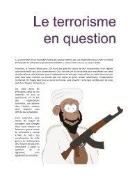 Terrorisme - Le monde politique