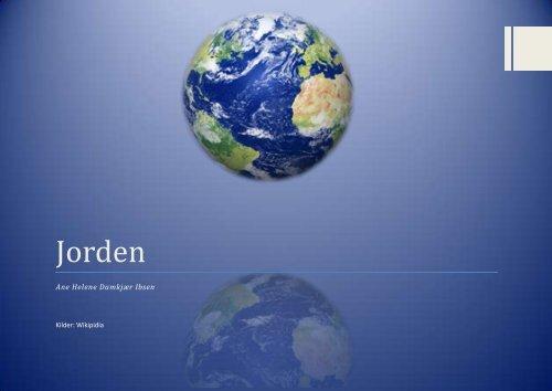 Jorden - Undervisning på Esager.com