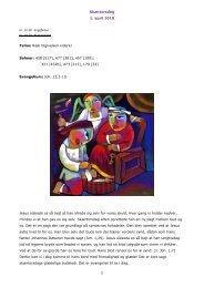 Skærtorsdag 1. april 2010 1 Tema: Ræk tilgivelsen ... - Burkal Kirke