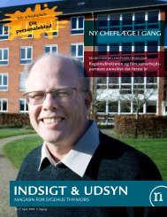 INDSIGT & UDSYN - Region Nordjylland