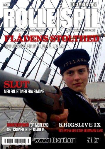 FLÅDENS STOLTHED - Magasinet ROLLE|SPIL